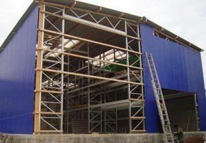 Строительство складского комплекса