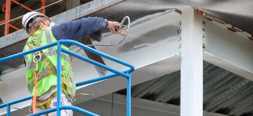 Противопожарная обработка металлических конструкций