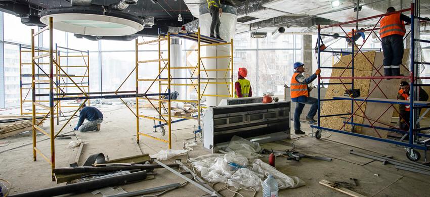 Реконструкция административных зданий